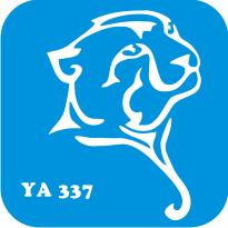 "Трафарет для бодиарта ""Мир животных"" код № YA 337"