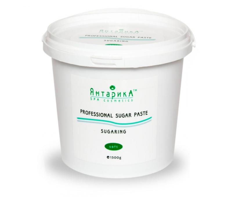 Сахарная паста для шугаринга ЯнтарикА Мягкая 1.5 кг