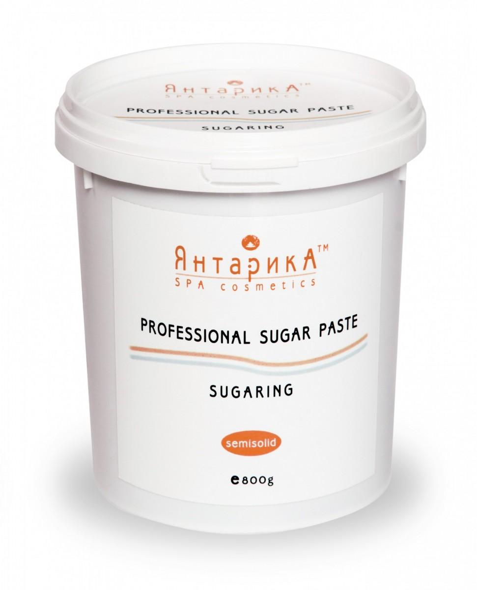 Сахарная паста для шугаринга ЯнтарикА полутвердая 800 грамм