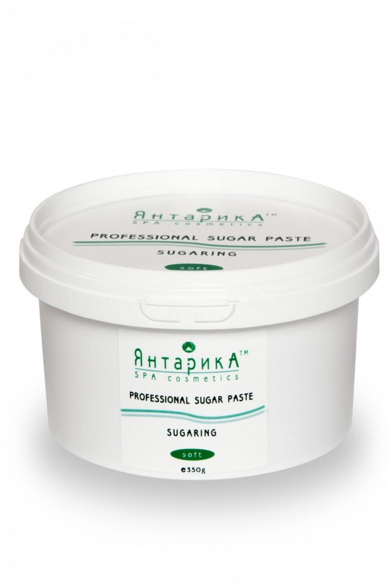 Сахарная паста для шугаринга ЯнтарикА мягкая 350 грамм